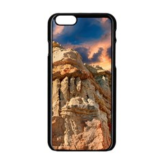 Canyon Dramatic Landscape Sky Apple Iphone 6/6s Black Enamel Case by Celenk