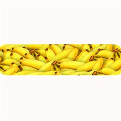 Yellow Banana Fruit Vegetarian Natural Large Bar Mats by Celenk