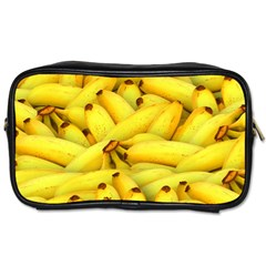 Yellow Banana Fruit Vegetarian Natural Toiletries Bags by Celenk