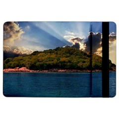 Island God Rays Sky Nature Sea Ipad Air 2 Flip by Celenk