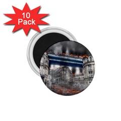 Destruction City Building 1 75  Magnets (10 Pack)  by Celenk