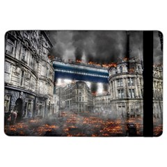 Destruction City Building Ipad Air 2 Flip by Celenk