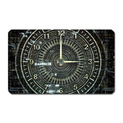 Time Machine Science Fiction Future Magnet (rectangular) by Celenk