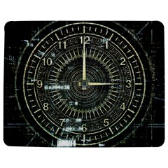 Time Machine Science Fiction Future Jigsaw Puzzle Photo Stand (rectangular) by Celenk