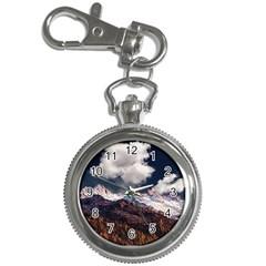 Mountain Sky Landscape Hill Rock Key Chain Watches by Celenk
