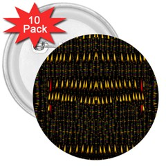 Hot As Candles And Fireworks In The Night Sky 3  Buttons (10 Pack)  by pepitasart