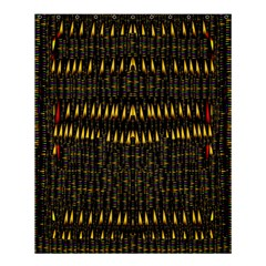 Hot As Candles And Fireworks In The Night Sky Shower Curtain 60  X 72  (medium)  by pepitasart