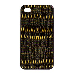 Hot As Candles And Fireworks In The Night Sky Apple Iphone 4/4s Seamless Case (black) by pepitasart