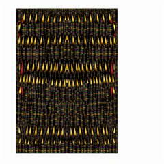 Hot As Candles And Fireworks In The Night Sky Large Garden Flag (two Sides) by pepitasart