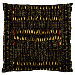 Hot As Candles And Fireworks In The Night Sky Large Flano Cushion Case (two Sides) by pepitasart