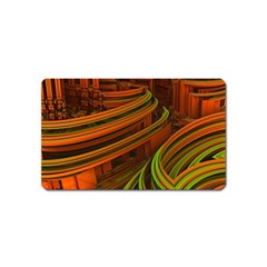 Science Fiction Technology Magnet (name Card) by Celenk