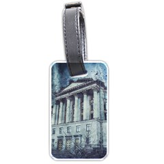 Storm Rain Lightning Weather Luggage Tags (two Sides)