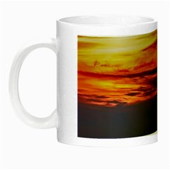 Countryside Landscape Nature Rural Night Luminous Mugs by Celenk