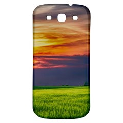 Countryside Landscape Nature Rural Samsung Galaxy S3 S Iii Classic Hardshell Back Case by Celenk