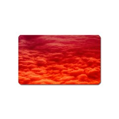Red Cloud Magnet (name Card) by Celenk
