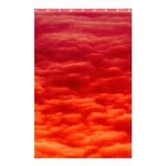 Red Cloud Shower Curtain 48  X 72  (small)  by Celenk
