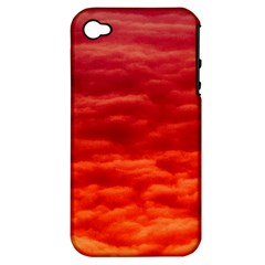 Red Cloud Apple Iphone 4/4s Hardshell Case (pc+silicone) by Celenk