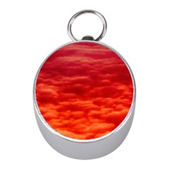 Red Cloud Mini Silver Compasses by Celenk