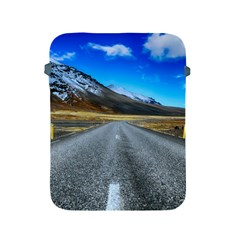 Road Mountain Landscape Travel Apple Ipad 2/3/4 Protective Soft Cases by Celenk