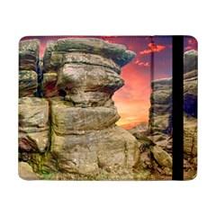 Rocks Landscape Sky Sunset Nature Samsung Galaxy Tab Pro 8 4  Flip Case by Celenk