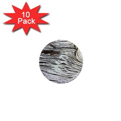 Wood Knot Fabric Texture Pattern Rough 1  Mini Magnet (10 Pack)  by Celenk