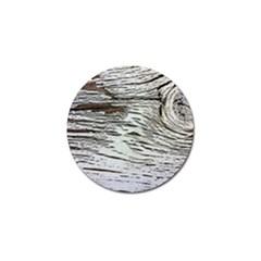 Wood Knot Fabric Texture Pattern Rough Golf Ball Marker (10 Pack) by Celenk