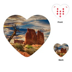 Bryce Canyon Usa Canyon Bryce Playing Cards (heart)  by Celenk