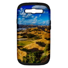 Hills Countryside Landscape Rural Samsung Galaxy S Iii Hardshell Case (pc+silicone) by Celenk