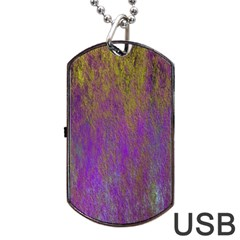 Background Texture Grunge Dog Tag Usb Flash (one Side) by Celenk