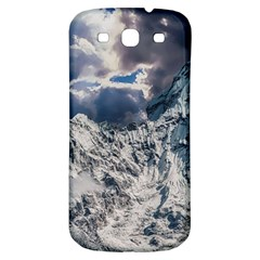 Mountain Snow Winter Landscape Samsung Galaxy S3 S Iii Classic Hardshell Back Case by Celenk