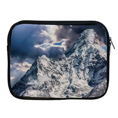 Mountain Snow Winter Landscape Apple Ipad 2/3/4 Zipper Cases by Celenk
