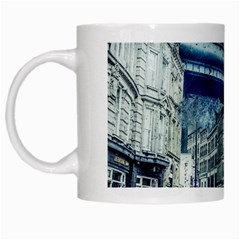 Storm Weather Nature Thunderstorm White Mugs by Celenk