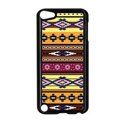 Colorful Tribal Art   Boho Pattern Apple Ipod Touch 5 Case (black) by tarastyle