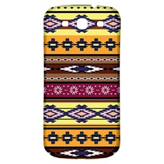 Colorful Tribal Art   Boho Pattern Samsung Galaxy S3 S Iii Classic Hardshell Back Case by tarastyle