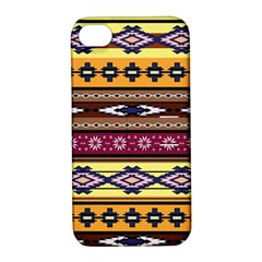 Colorful Tribal Art   Boho Pattern Apple Iphone 4/4s Hardshell Case With Stand by tarastyle