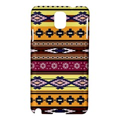 Colorful Tribal Art   Boho Pattern Samsung Galaxy Note 3 N9005 Hardshell Case by tarastyle
