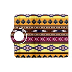 Colorful Tribal Art   Boho Pattern Kindle Fire Hd (2013) Flip 360 Case by tarastyle