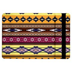Colorful Tribal Art   Boho Pattern Ipad Air Flip by tarastyle