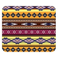 Colorful Tribal Art   Boho Pattern Double Sided Flano Blanket (small)  by tarastyle
