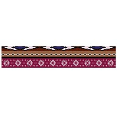 Colorful Tribal Art   Boho Pattern Large Flano Scarf  by tarastyle
