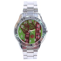 Kite In The Sky Stainless Steel Analogue Watch by snowwhitegirl