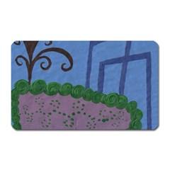 Purple Shoe Magnet (rectangular) by snowwhitegirl