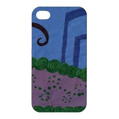 Purple Shoe Apple Iphone 4/4s Premium Hardshell Case by snowwhitegirl