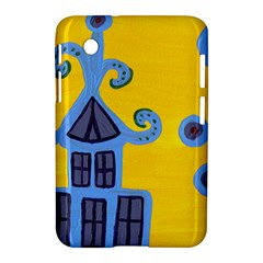 Blue House Samsung Galaxy Tab 2 (7 ) P3100 Hardshell Case  by snowwhitegirl