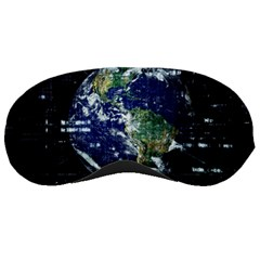 Earth Internet Globalisation Sleeping Masks by Celenk