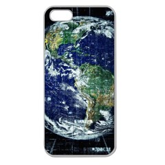 Earth Internet Globalisation Apple Seamless Iphone 5 Case (clear) by Celenk