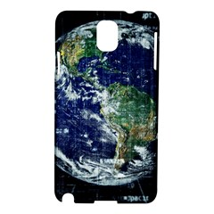Earth Internet Globalisation Samsung Galaxy Note 3 N9005 Hardshell Case by Celenk
