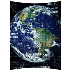 Earth Internet Globalisation Back Support Cushion by Celenk