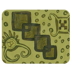 Four Squares Double Sided Flano Blanket (medium)  by snowwhitegirl