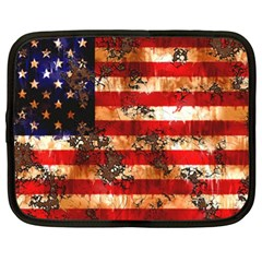 American Flag Usa Symbol National Netbook Case (xl)  by Celenk